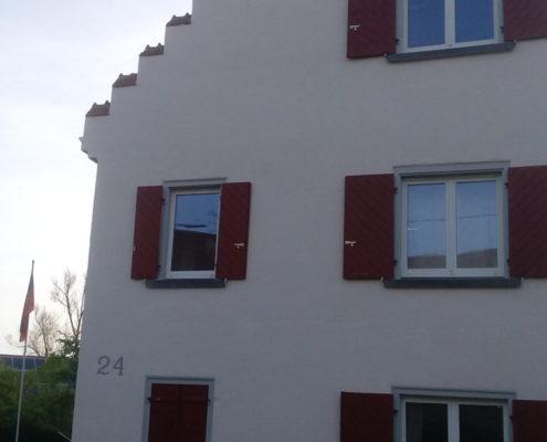 Fassade in Kanzach - Fassade nacher