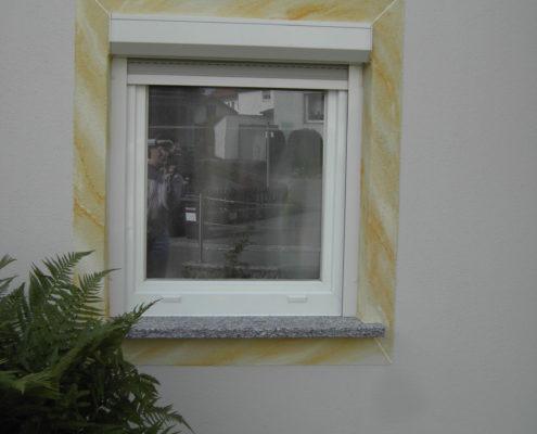Fenstereinrahmung