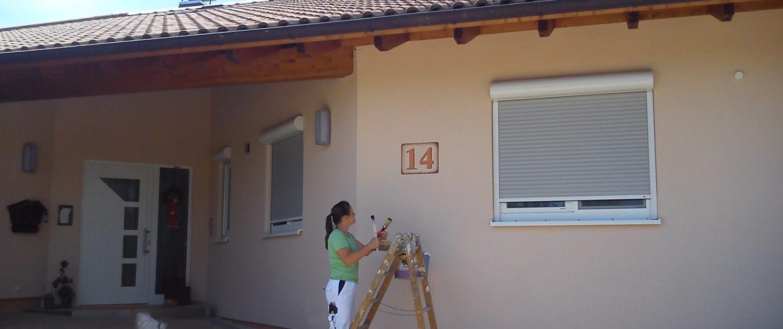 Hausnummer in Muttensweiler